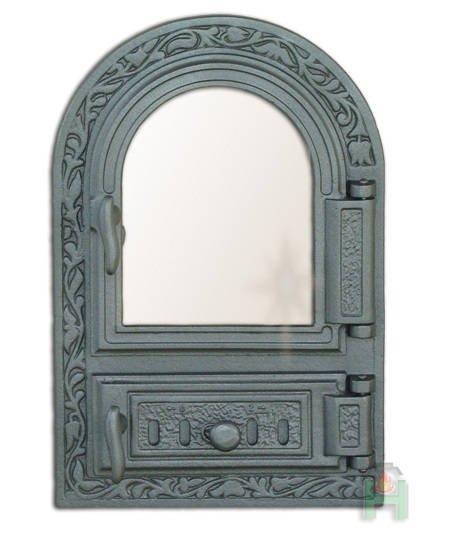 Двери для печей с огнеупорным стеклом. Купить двери для печей.
