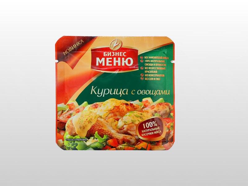 Реторт упаковка для пищевых продуктов