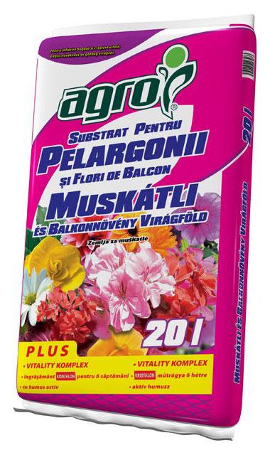 Купить Substrat pentru muşcate şi alte flori de balcon