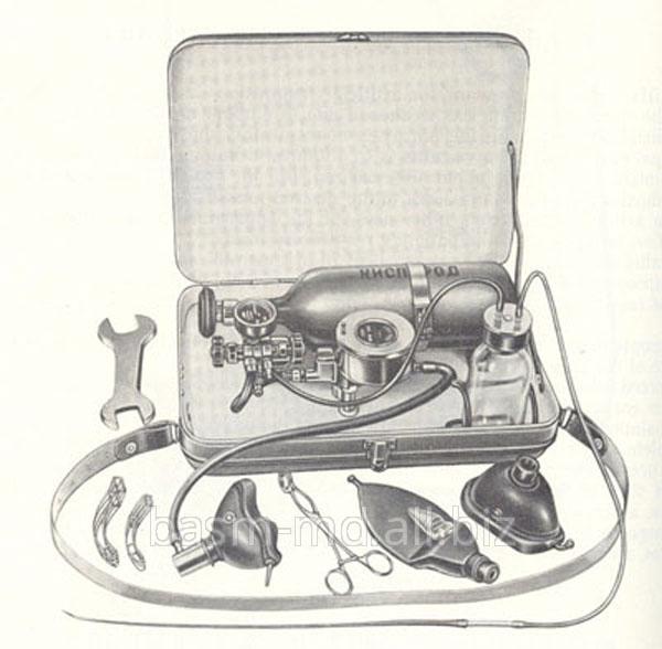 Купить Аппарат для искусственного дыхания портативный ДП-2Aparat portativ pentru respiratie artificiala ДП-2Вкомплект входят:дыхательный автомат с увлажнителем,кислородный редуктор манометром и регулятором,кислородный баллон емкостью2л,маски большая и малая,