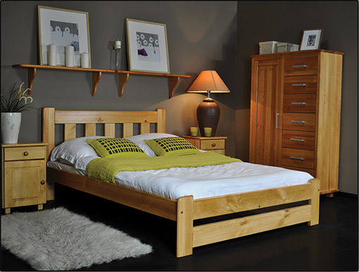 Beds MILA 90h200 model
