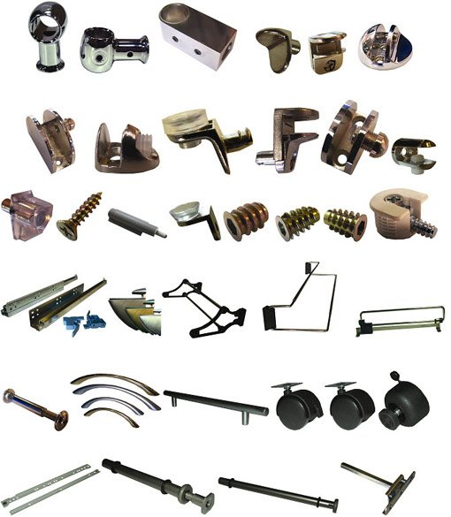 Buy Furniture accessories for assembly of furniture in assortmen