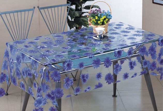 Buy PVC oilcloth - a cloth transparent