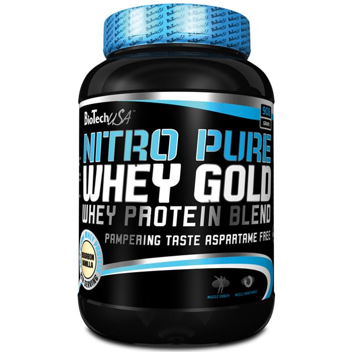 Купить Протеин быстро усваиваемый Nitro pure whey gold 908 грамм