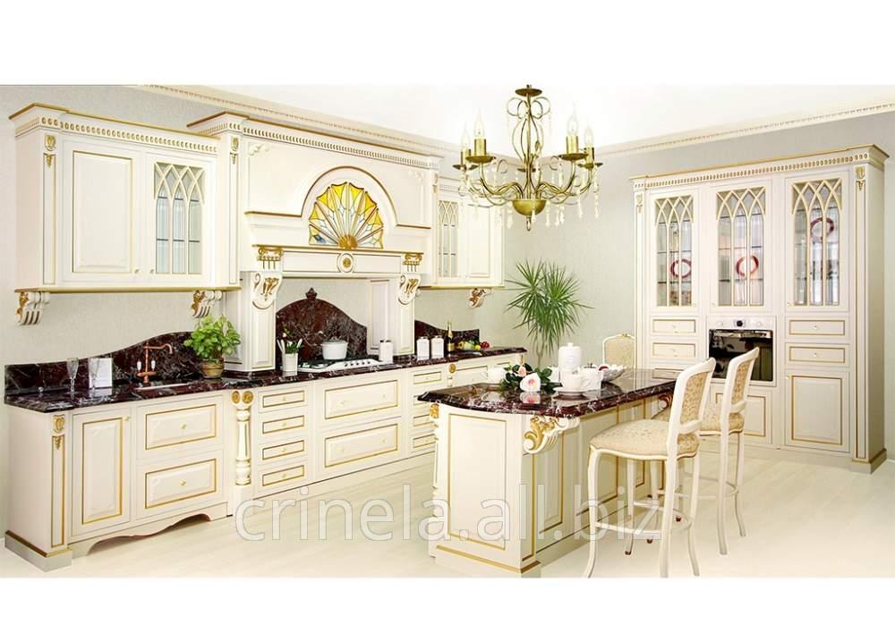 购买天然木材厨房装饰门