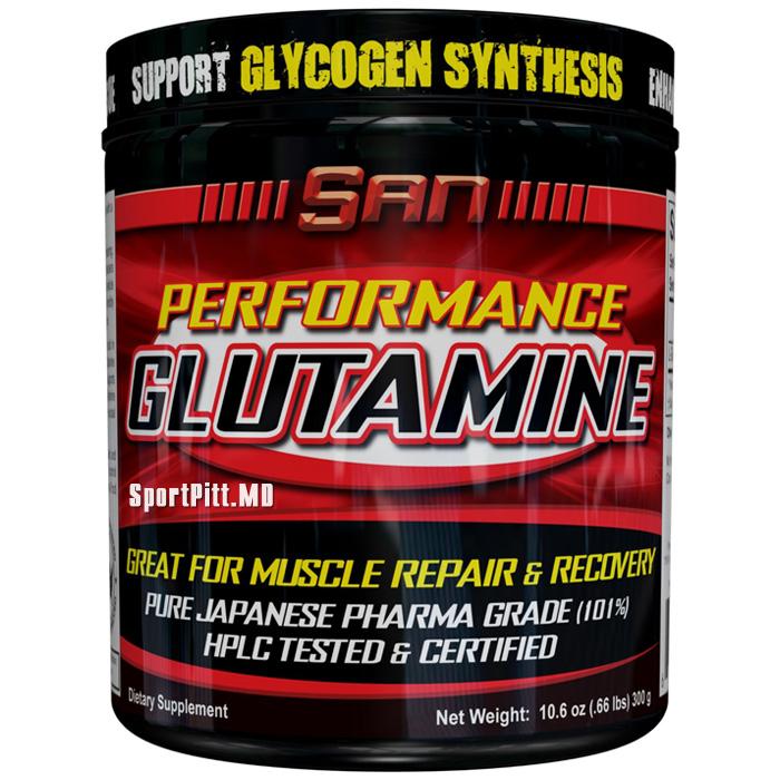 Купить Аминокислоты PERFORMANCE GLUTAMINE 300 грамм