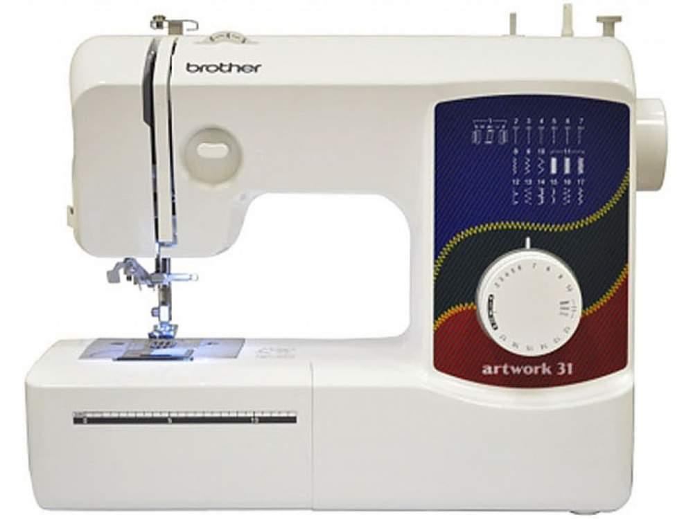 Buy Cars household sewing Sewing machine BROTHER Artwork 31 (17 lines, nitevdevatel) New