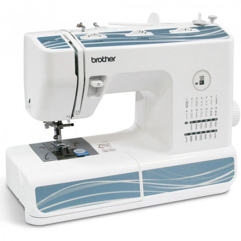 Купить Машины бытовые швейные Швейная машина BROTHER Classic 30 (27 строчек, петля автомат, нитевдеватель, регуляторы длины 4,5мм и ширины строчки 7 мм) New