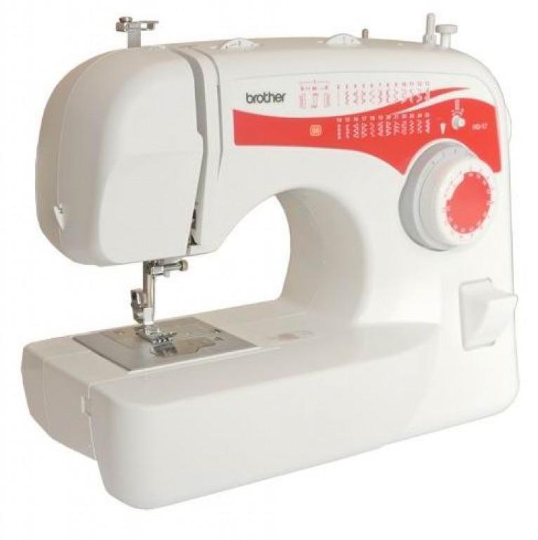 Купить Машины бытовые швейные Швейная машина BROTHER HQ-17 (25 строчек, регуляторы длины и ширины строчки)