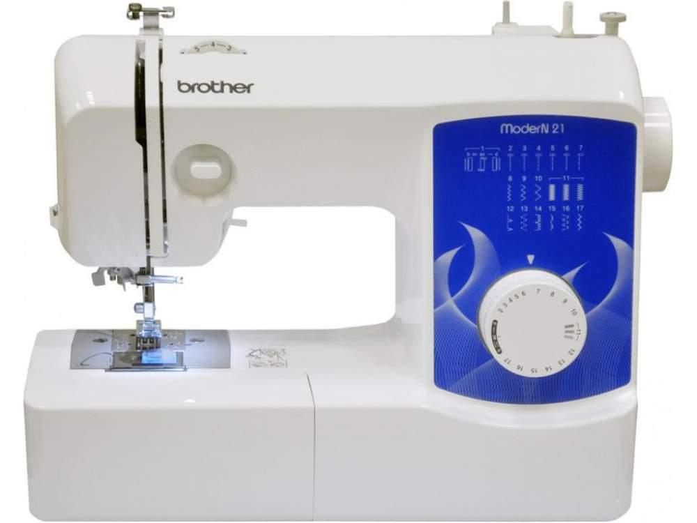 Купить Машины бытовые швейные Швейная машина BROTHER Modern 21 (17 строчек, нитевдеватель) New