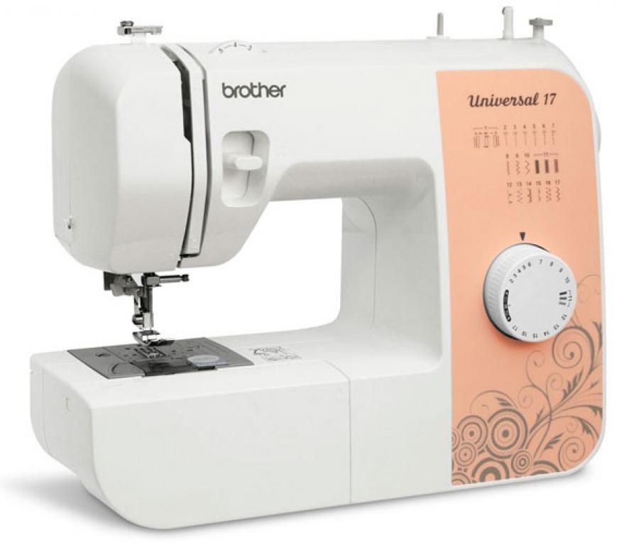 Купить Машины бытовые швейные Швейная машина BROTHER Universal 17 (17 строчек, нитевдеватель) New