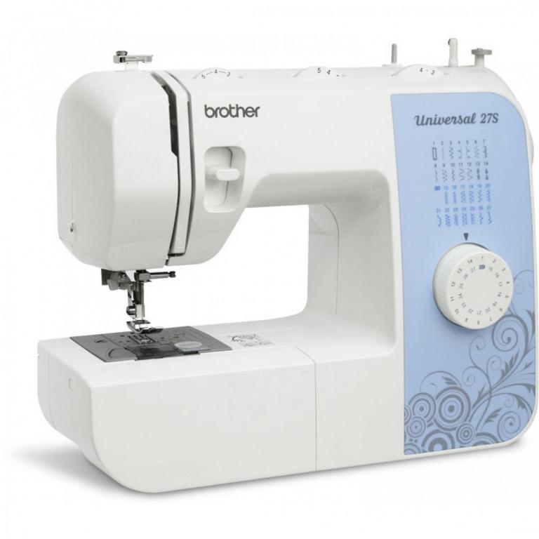 Купить Машины бытовые швейные Швейная машина BROTHER Universal 27s (27 строчек, петля автомат, нитевдеватель, регуляторы длины и ширины строчки) New