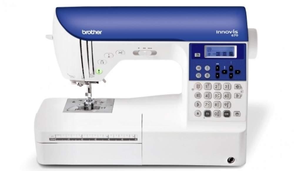 Купить Машины бытовые швейные Компьютеризированная швейная машина BROTHER NV-670
