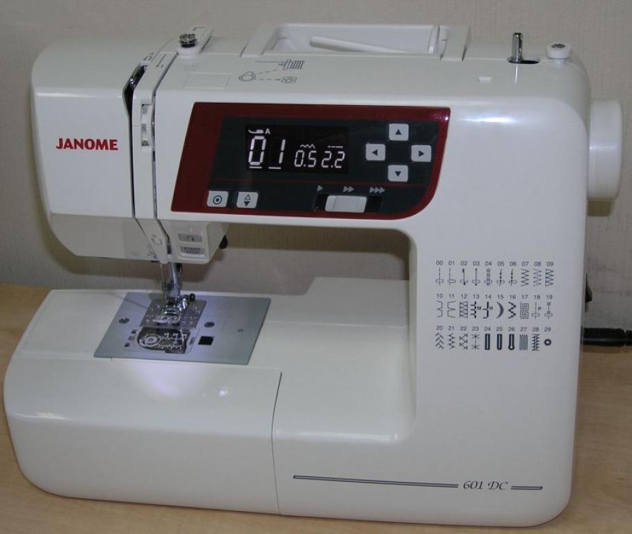 Купить Машины бытовые швейные Компьютеризированная швейная машина JANOME DC-601