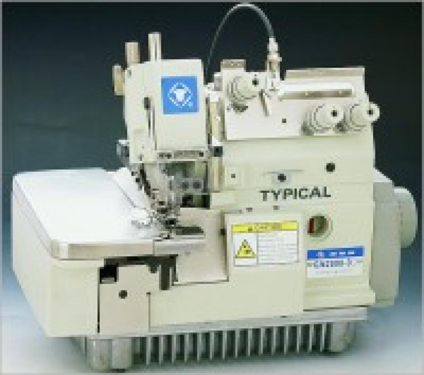Buy Industrial overlok Industrial 1-needle 3rd filar overlok of TYPICAL GN2000-3C