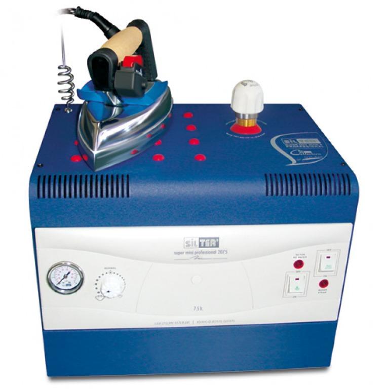Купить Промышленные утюги с парогенератором Промышленный парогенератор с утюгом SILTER SPR/MN2075 (7.5 литра)