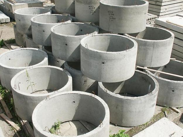 Купить Кольца бетонные,кольца для канализации