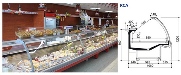 Buy Show-window refrigerating COSTAN ROSSINI Series