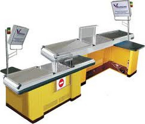 Buy Cash boxing of DINOX with the Narrow and Wide Store with a conveyor tape