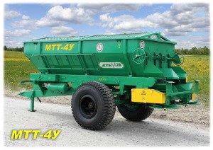 Купить Машина для внесения минеральных удобрений МТТ-4У