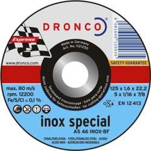 Купить Отрезной круг по нерж. тонкий AS46 INOX special