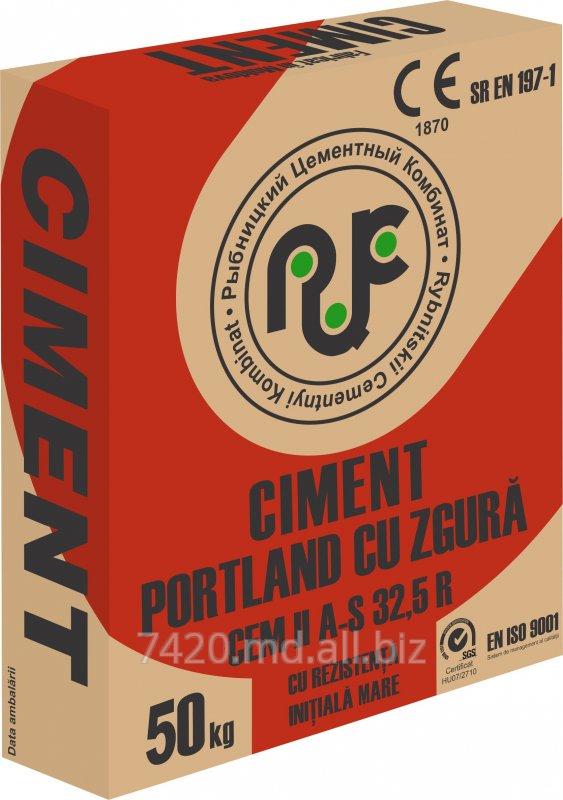 Купить Портландцемент ПЦ400-Д20/CEM II A-S 32,5R тарированный в бумажные мешки по 50 кг