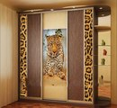 Купить Шкаф-купе с леопардом