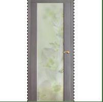 Купить Межкомнатные двери с цветным стеклом