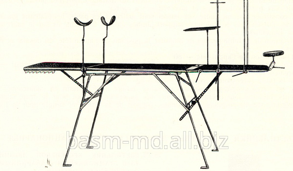 Купить Стол операционный с ручным подъемом полевой складнойMasă de operaţie de companie