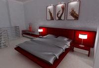 Купить Кровать, код 24