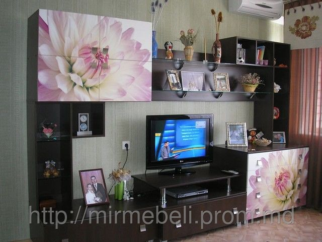 Купить Гостиная с цветами