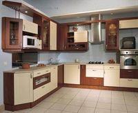 Купить Кухня коричнево-бежевая