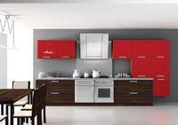 Купить Кухня с красными шкафчиками