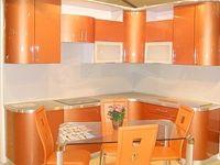 Купить Кухня оранжевая