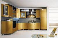 Купить Кухня цвета золота