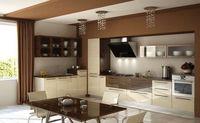 Купить Кухонный гарнитур двухцветный