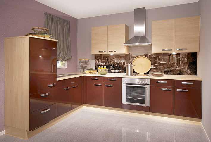 Купить Кухонный гарнитур из двух цветов