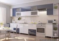 Купить Кухонный гарнитур бело-синий