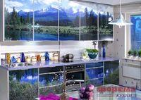 Купить Кухня с фотофасадом (природа)