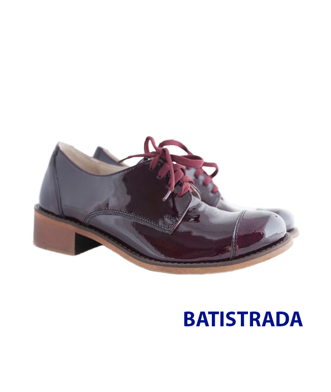 Купить Туфли в стиле Оксфорд из натуральной кожи Batistrada, код товара 9002