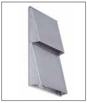 Купить Крышка воздухозаборника на наружную стену из нержавеющей стали M-WRG-ES Код: 5150