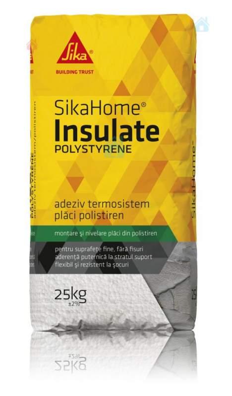 Купить Клей для пенопласта SikaHome Insulate Polystyrene