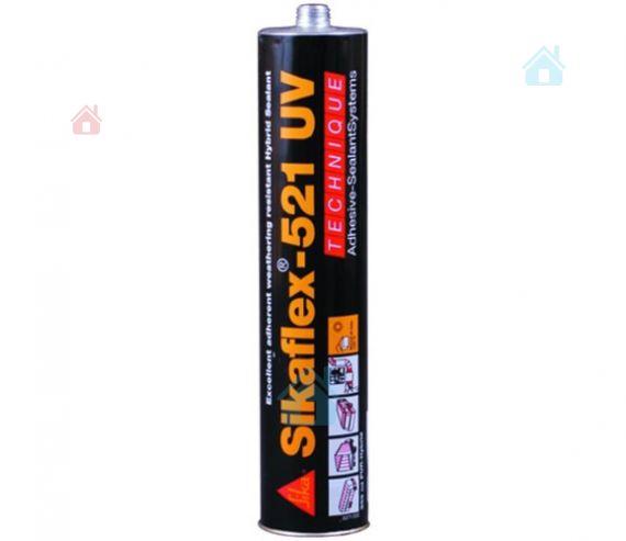 Купить Однокомпонентный герметик на основе полиуретан-гибридного соединения Sikaflex 521 UV