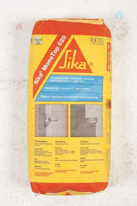 Buy Filling on a cement basis for repair of Sika MonoTop 620 concrete gray