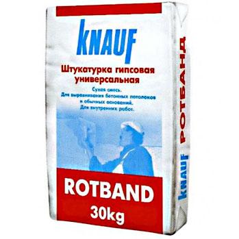 Купить Tencuială pe bază de ipsos knauf Rotband