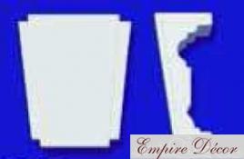 Купить Молдинг и декор из полиуретана для обрамления дверей и окон D 3527