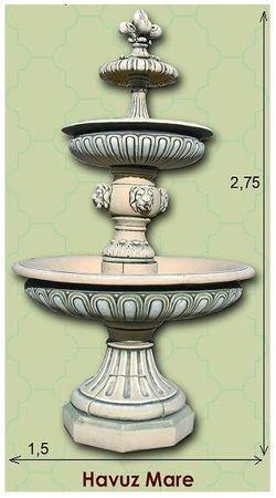 Купить Декоративные фонтаны в молдове из натурального камня