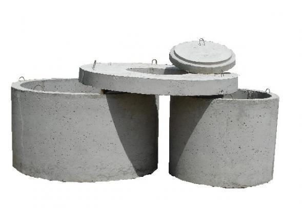 Купить Крышки бетонные для колодезных колец