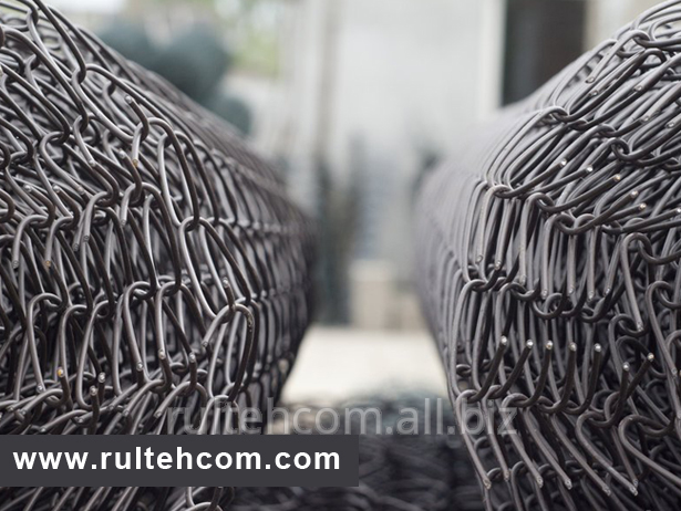 Сетка плетеная Рабица от компании Rultehcom