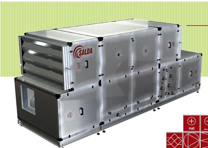 Установка кондиционирования воздуха Salda SmartAir C